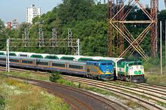 The Ol' In-Out (Nomar Tyson-Rales) Tags: toronto ontario st train sub go trains via bathurst oakville 540 906 usrc f59ph p42dc