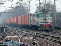 E655-061 (Simone Menegari) Tags: train merci traction rail cargo stazione treno fs lavoro ferrovia locomotiva caimano locomotore castelguelfo e655