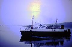 MV Iona - Lochboisdale - 1977 about 11pm (B44Nalla) Tags: south iona calmac uist mv lochboisdale