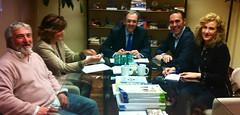 Reunión con consellería para la adeucación y ampliación del Sanchís Banús