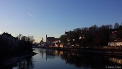 Sunset in Steyr (Spyros Tragas) Tags: sunset river austria oostenrijk europe samsung upper galaxy oberösterreich s4 steyr enns 2013