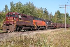 DMIR 403 @ Iron Junction MN (Kingmoor Fitter) Tags: minnesota dmir tunnelmotor ironoretrain ironjunction emdsd403 dimr403