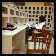 A #student #studying at #midnight in... (ankitagrawal87) Tags: reading student education essays library delhi midnight future success hardwork studying jnu igindia igasia uploaded:by=flickstagram instagram:photo=681233737239367260934877690