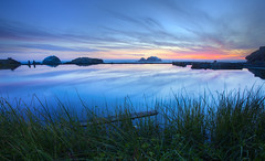 Crystal Pond (Mike_Valera) Tags: sanfrancisco longexposure sunset reflection landscape sutrobaths hdr canon6d indurotripod induroct214