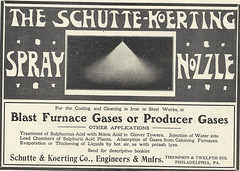 Schutte _ Koerting Co (2) (Kitmondo.com) Tags: old colour history industry work vintage magazine advertising photo industrial factory technology tech image working machine advertisement equipment business company machinery advert labour historical kit oldequipment publication metalworking oldadvert oldmagazine oldwriting vintageequipment oldadvertisment oldliterature vintagepublication oldpublication machinerypublication