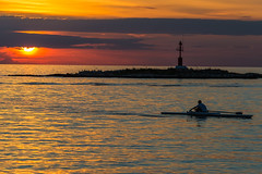 Sunset in Porec