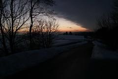 Sonnenuntergang über dem Schwarzwald
