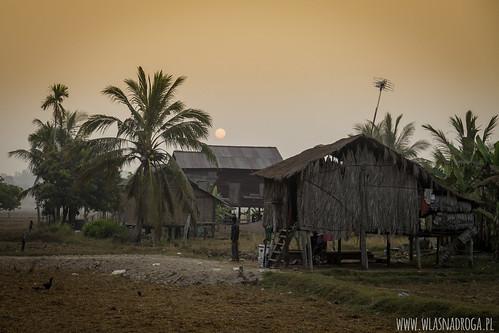 Kambodżańska wieś