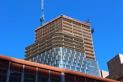 Tower at PNC Plaza (Eridony (Instagram: eridony_prime)) Tags: skyscraper downtown pittsburgh pennsylvania underconstruction goldentriangle centralbusinessdistrict alleghenycounty