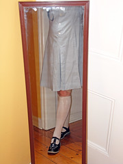 Start of a New School Year (Christie Jane) Tags: blue socks tv shoes dress cd crossdressing tgirl transgender sissy tranny transvestite maryjanes schoolgirl crossdresser crossdress gurl schooluniform tg harrisons maryjaneshoes trannie xdressing xdress strapshoes tgurl tbars scampers tbarshoes schoolgurl tstrapshoes tbarsandals transvestiteschoolgirl crossdressingschoolgirl scampersschoolshoes scamperstbars xdressresser