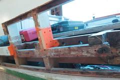 IMG_3935 - Port Hadlock WA - Northwest School of Wooden Boatbuilding - 2013 Repair and Restoration - HOBO - frame repair, port side aft (BlackShoe1) Tags: wood port boat washington olympicpeninsula wash pacificnorthwest wa jefferson woodenboat washingtonstate hobo woodboat boatrepair countyeast porthadlockwa boatwooden hobohobohobo hadlockjefferson countymv repairwood tugwoodtug