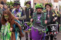 Drummers (melita_dennett) Tags: old england man green english history church festival jack sussex town spring day all traditional may saints folklore east drummer drumming hastings tradition custom mayday beltane 2016