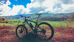 Manghumay (aljar3d) Tags: road travel blue sunset summer camp vacation sky sun mountain travelling bike clouds island climb cross country hill peak down off hike adventure mount explore murcia trail cycle biking mtb xc bacolod gt outing negros hardtail bago minoyan mailum manghumay