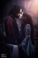 Ingle / Magic (Snowgrimm) Tags: kiss cosplay romance fantasy lordoftherings aragorn arwen middleearth elv ramtic