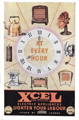 Siemens Xcel Electrical Appliances Lighten Your Labour 1934
