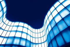 (corpaphotos) Tags: blue milan mudec diagonals linescurves dissymmetry