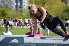 Toughest, Malmö 2016 (Maria Eklind) Tags: beach strand race training se europe sweden outdoor norden sverige malmö ribban ribersborg västrahamnen toughest skånelän lopp hinderlopp toughest2016