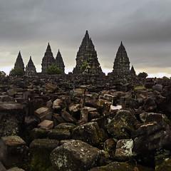 The temple (Robyn Hooz) Tags: indonesia temple rocks religion sacre pietre rocce squared cultura sacro prambanan religione templio