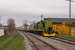 Setting Off at Hamburg (Joseph Bishop) Tags: railroad ny newyork train track hamburg tracks rail railway trains rails railfan alco mlw 5010 rs11 bsor buffalosouthernrailway