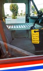 REALLY? (akahawkeyefan) Tags: window funny tag postoffice stupid vehicle kingsburg davemeyer