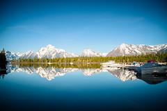 Grand Teton National Park (jillybeanmi) Tags: mountains reflection nature water boats nationalpark nikon scenery lakes scenic grand calm teton elevation waterreflection waterscape grandtetonnationalpark nikond7200 yellowstone2016