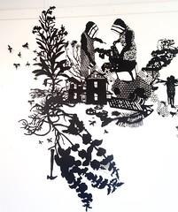 MBosley_MindYourOwnBeekeeper (TheWayThingsWere) Tags: silhouette paperart silhouettes papercut papercuts papercutting mollybosley