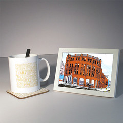 forgotten haunts manchester mug and coaster (rethinkthingsltd) Tags: city liverpool manchester design parry forgotten mug local coaster hacienda scouser haunts ilsa pickwicks epics typographically rethinkthings
