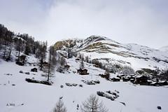 Lodges around Furi base (A. Wee) Tags: mountain ski alps switzerland lodge skiresort zermatt  furi