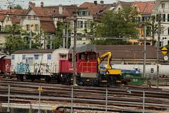 SBB Tm 234 115 - 4 Ameise ( Bahndiensttraktor - Baudiensttraktor - Traktor - Tm 2/2 - Hersteller Stadler - Bombardier - Inbetriebnahme 2.0.0.2 ) am Bahnhof Bern im Kanton Bern der Schweiz (chrchr_75) Tags: train schweiz switzerland traktor suisse swiss eisenbahn zug sbb tm christoph svizzera bahn treno schweizer ffs 234 suissa cff chrigu bahnen chrchr hurni chrchr75 chriguhurni juni2016 chriguhurnibluemailch bahndiensttraktor