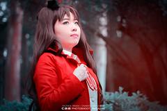 Rin Tohsaka | FATE/STAY NIGHT cos Masae (CAA Photoshoot Magazine) Tags: portrait anime cosplay wordpress portraiture cosplayer cosplayers  caa fatestaynight rintohsaka cosplayphotography unlimitedbladeworks cosplayphotographer