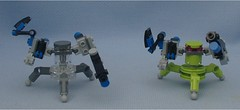 Turbo Twins (Mantis.King) Tags: lego turbo scifi futuristic mecha mech moc multiped microscale mechaton mfz mf0 mobileframezero