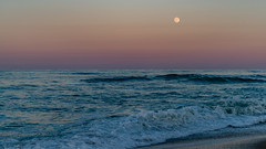 _DSC1341 (chriswheatley97) Tags: obx outer banks nc north carolina beach night moon sunset ocean