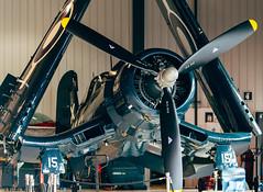 Goodyear FG-1D Corsair (nicvince78) Tags: nikon gatineau corsair 2016 goodyearfg1dcorsair tamron70200 vintagewingsofcanada nikond610