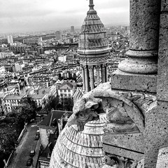 (El Cheech) Tags: europeanhistory history gargoyle architecture photography blackandwhite blackandwhitephotography eurotrip europe french france