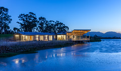 1T3V5626 (Joe de Villiers Architect) Tags: water concrete dam verandah beton stoep westerncape tulbagh oregonpine joedevilliersarchitect housebongideane obiekwamountains obiekwaberge