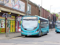 Arriva Midlands 3313 FJ64 EUA on 158 (sambuses) Tags: 3313 arrivamidlands fj64eua
