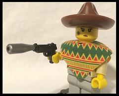 Suppressed M9 (Mike-1911) Tags: lego m9 walkingdead brickarms eclipsegrafx brickwarriors