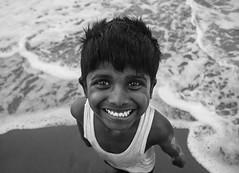 Salty. (nshrishikesh) Tags: marina marinabeach chennai 1855 121clicks wideangle portrait portraits souls blackandwhite blackandwhitephotography monochrome