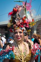 Cornucopia Mermaid (slightheadache) Tags: nyc party beauty brooklyn coneyisland parade mermaid coney mermaidparade 2016