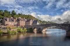 Dinan et le printemps (philippe MANGUIN photographies) Tags: bridge bretagne armor pont rance dinan oldbridge ctesdarmor vieuxpont bordsderance