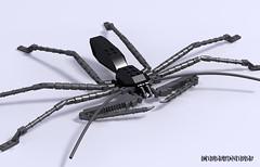 The creepy crawler. (_bidlopavidlo_) Tags: digital insect spider ray lego pov designer creepy crawler ldd