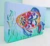 quilled fish may 2016-2 (playsculptlive) Tags: fish polymerclay quilling pcagoe playsculptlive