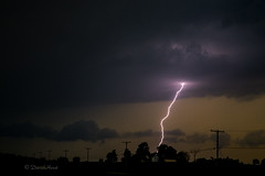 Single Bolt (david.horst.7) Tags: storm night rural scenery lightning