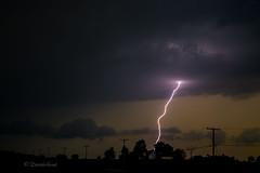 Single Bolt (david.horst.7) Tags: storm night rural scenery lightning