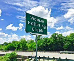 women hollering creek Sandra cisneros, the author of the house on mango street and woman hollering creek and other stories, is a poet and fiction writer self described as a terrorist,.