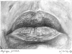 Porter Carol my lips (hanks students artwork) Tags: 2016 takoma mc portrait drawing advanced lips