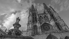 Burgos Cathedral, Spain (danperezfilms) Tags: blackandwhite architecture spain cathedral espana burgos burgoscathedral