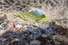Snow cave (Bob_2006) Tags: june hike 2016 goldenearsprovincialpark evansvalley
