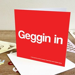 geggin in generic card (rethinkthingsltd) Tags: birthday christmas boss baby home kitchen up liverpool ma design tshirt parry livingroom made card sound mug greetings decor coaster cushion greeting madeup yerma yer scouser ilsa babygrow eeee laffin chocka jarg typograhic arlarse rethinkthings geggin gegginin