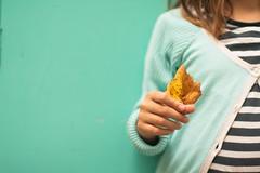 Tesoros.... (Nathalie Le Bris) Tags: blue lagune hoja leaf hand main bleu mano laguna feuille hct